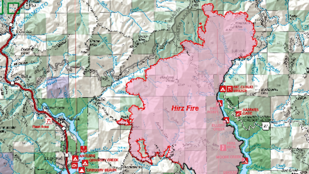 Favorable weather conditions could help firefighters battling Hirz