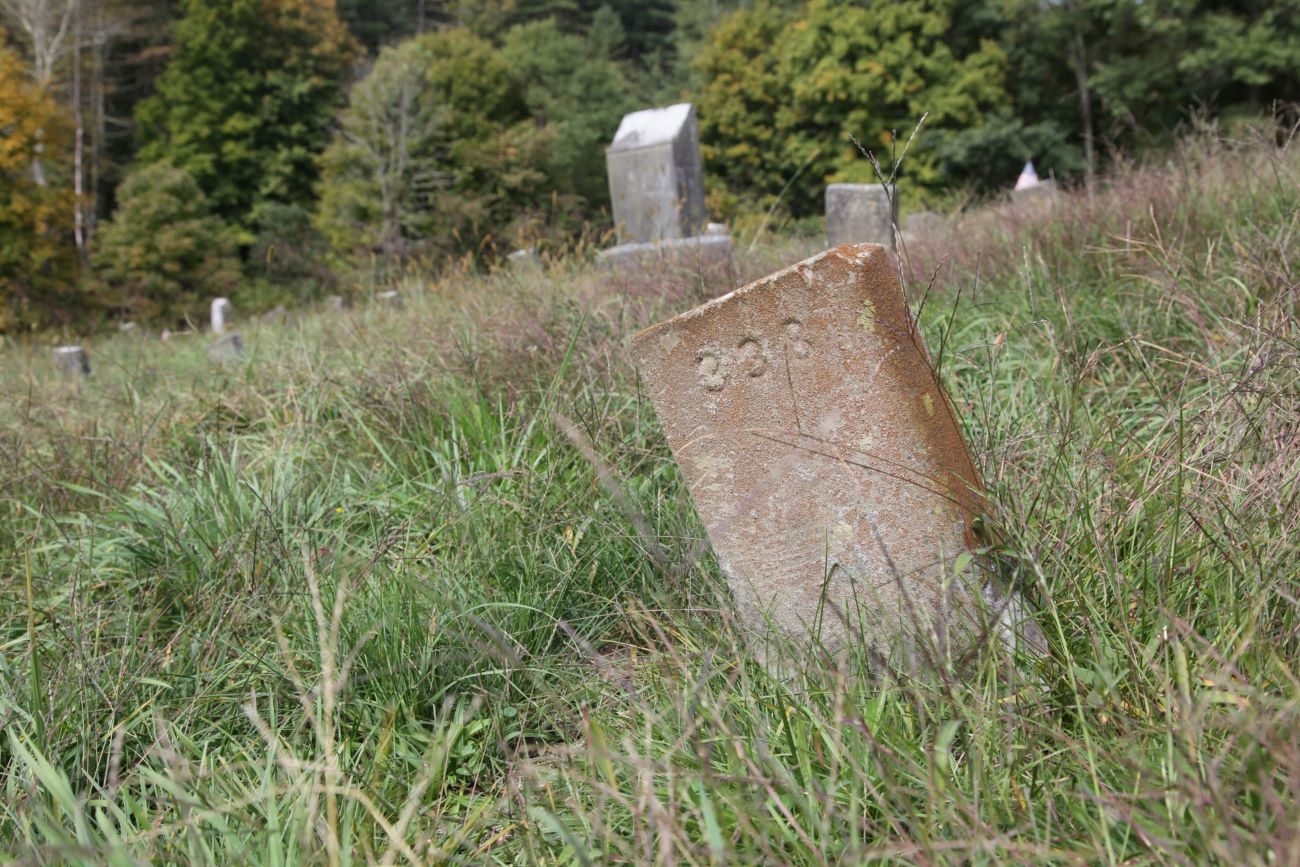 The graveyard of the former Athens Lunatic Asylum is where the remains of 700 women and 959 men lay under headstones marked only with a number. / Image: Chez Chesak // Published: 10.27.20