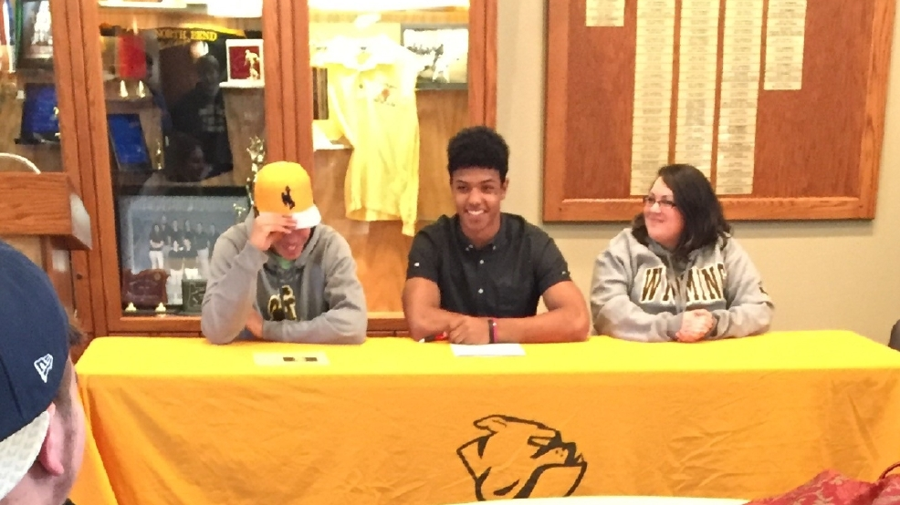 Wyoming Cowboys Signed Letter Of Intents For