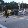 Car crash shuts down Monterey Rd and Dixie Hwy in Stuart