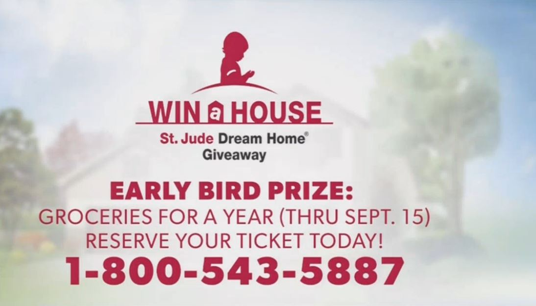 Get your tickets for the St. Jude Dream Home in Clovis