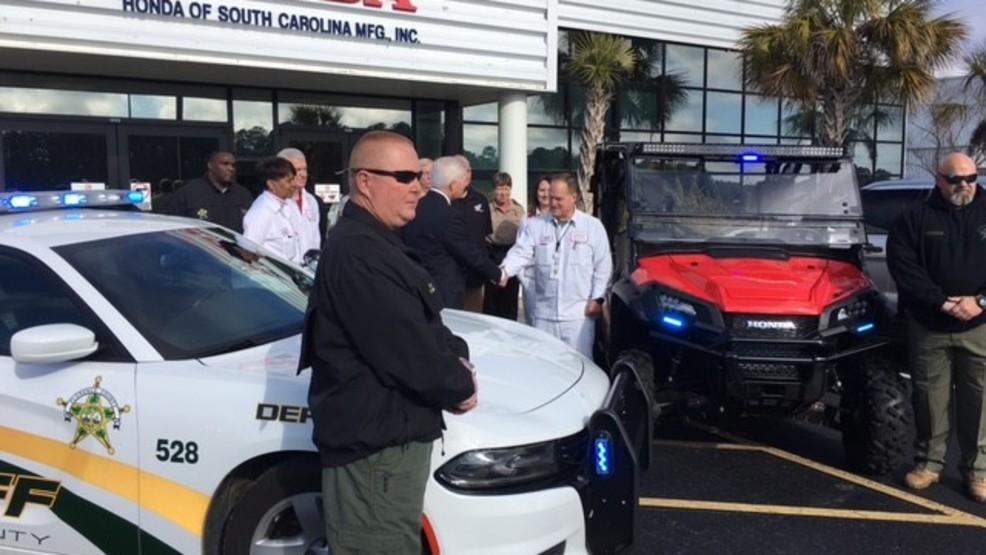 Honda Donates ATV To Florence County Sheriffu0027s Office