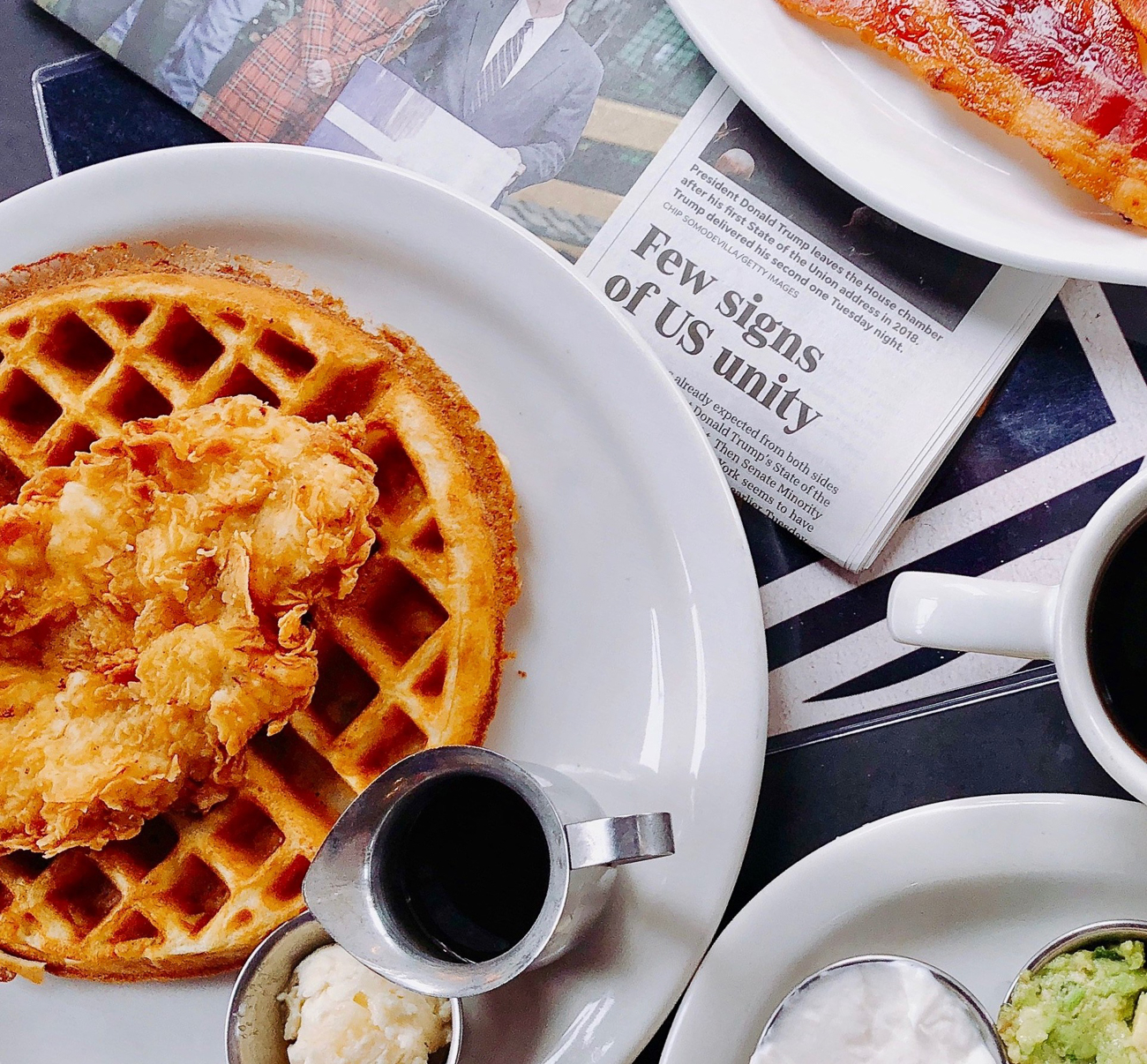What's a Stranger Things tribute without some Eggos? Conner's Kitchen + Bar is doing fried chicken and waffles for Saturday and Sunday brunch. If it's good enough for Eleven, you'll probably dig it, too. / Image courtesy of Visit Indy // Published: 6.26.19