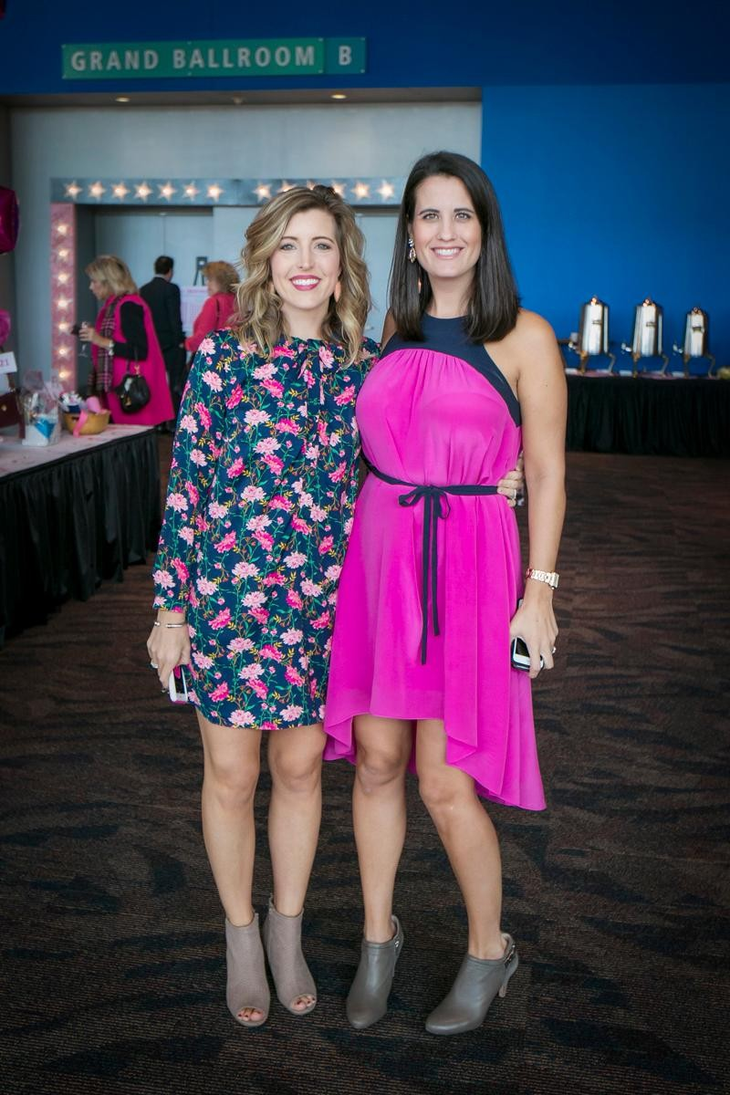 People: Lauren Lucar and Erica Harrison / Event: Pink Ribbon Luncheon (10.18.17) / Image: Mike Bresnen Photography / Published: 11.3.17