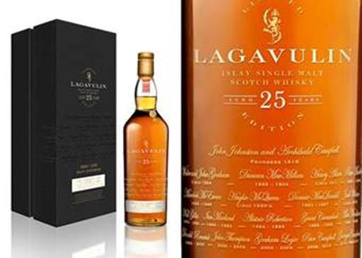 Lagavulin 25 year 200th Anniversary addition at The Next Whisky Bar (Image: Courtesy The Next Whiskey Bar)