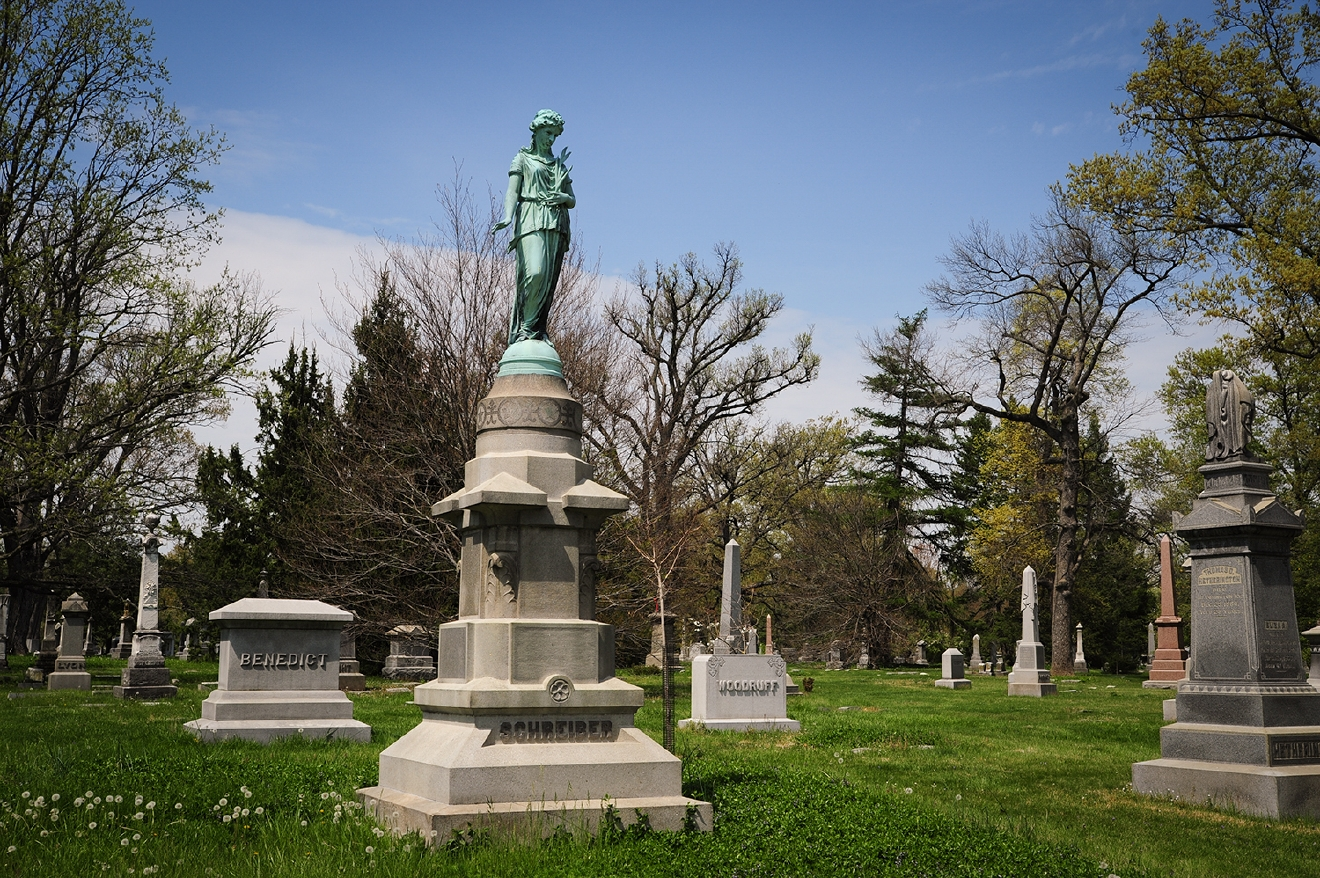 Designed by Howard Daniels, Spring Grove Cemetery & Arboretum covers 733 acres, making it the second-largest cemetery in the United States. (It's also a National Historic Landmark.) / Image: Melissa Doss Sliney