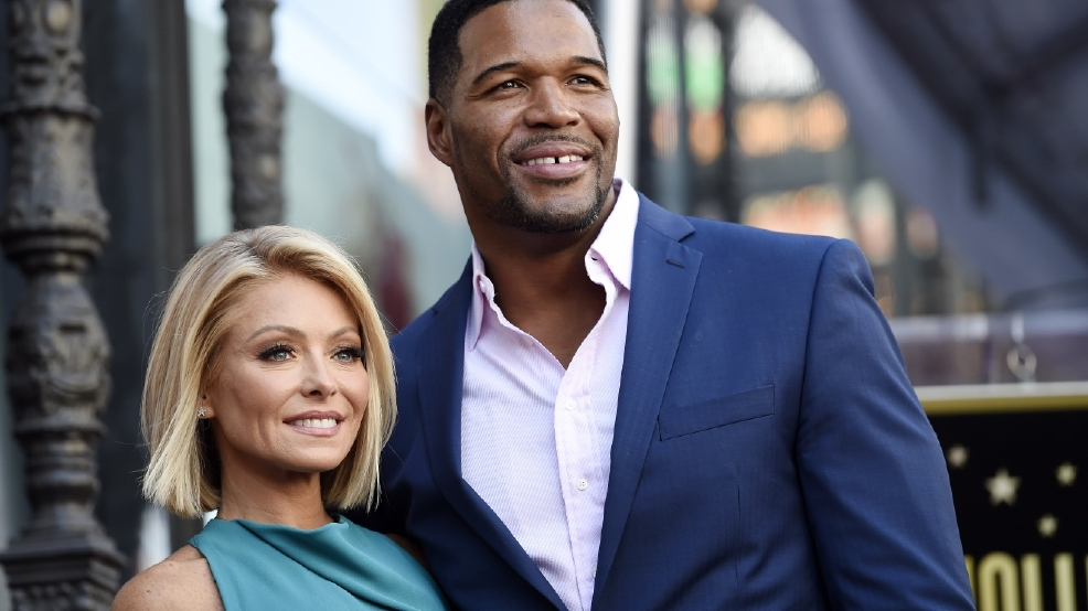Strahan to exit 'Live' in May, Ripa says all is forgiven