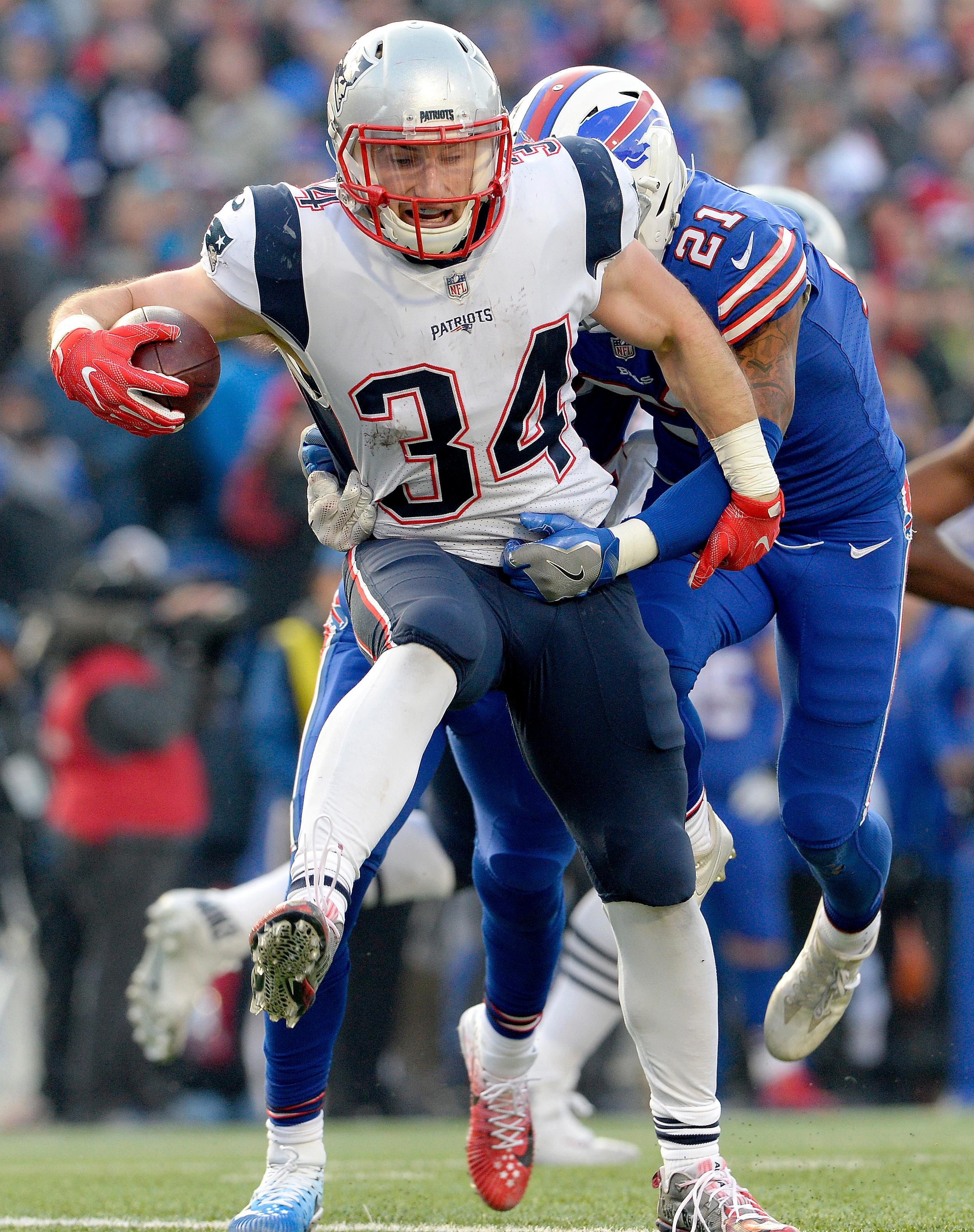 Gronk s hit on Tre Davious White adds tension to Bills Pats