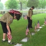 Boy Scouts honor fallen servicemembers at Holy Sepulchre Cemetery