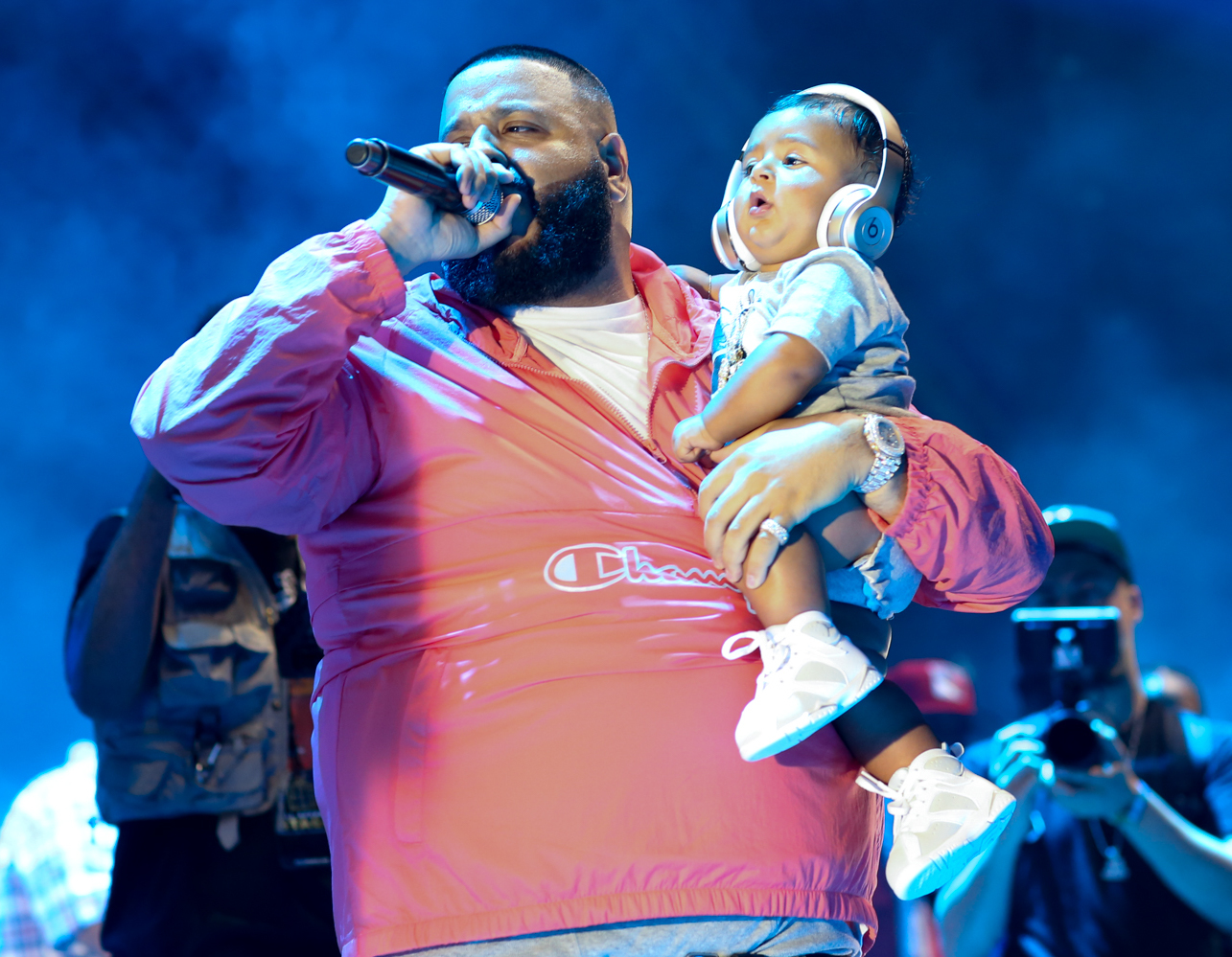 Hot 97's Summerjam 2017 at the Metlife Stadium in New Jersey - Performances  Featuring: DJ Khaled, Asad Khaled Where: East Rutherford, New Jersey, United States When: 11 Jun 2017 Credit: WENN.com