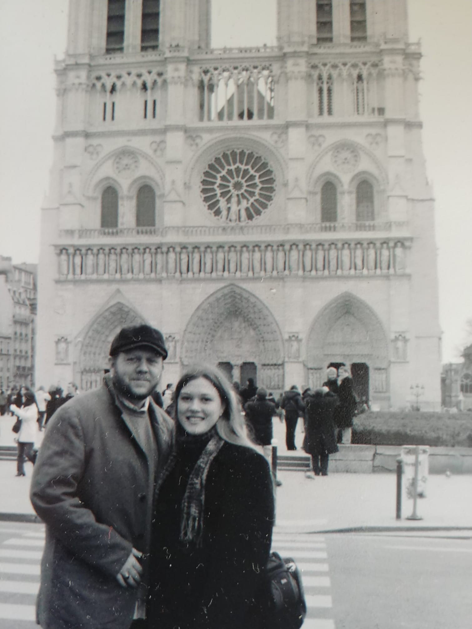 Locals shared their memories and photos of the historic Notre Dame on April 15, 2019 after hearing the gothic Parisian cathedral suffered serious damage after a fire. (Image - Jennifer Diamanti)