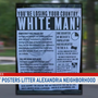 Racist posters pop up in Alexandria's Del Ray neighborhood