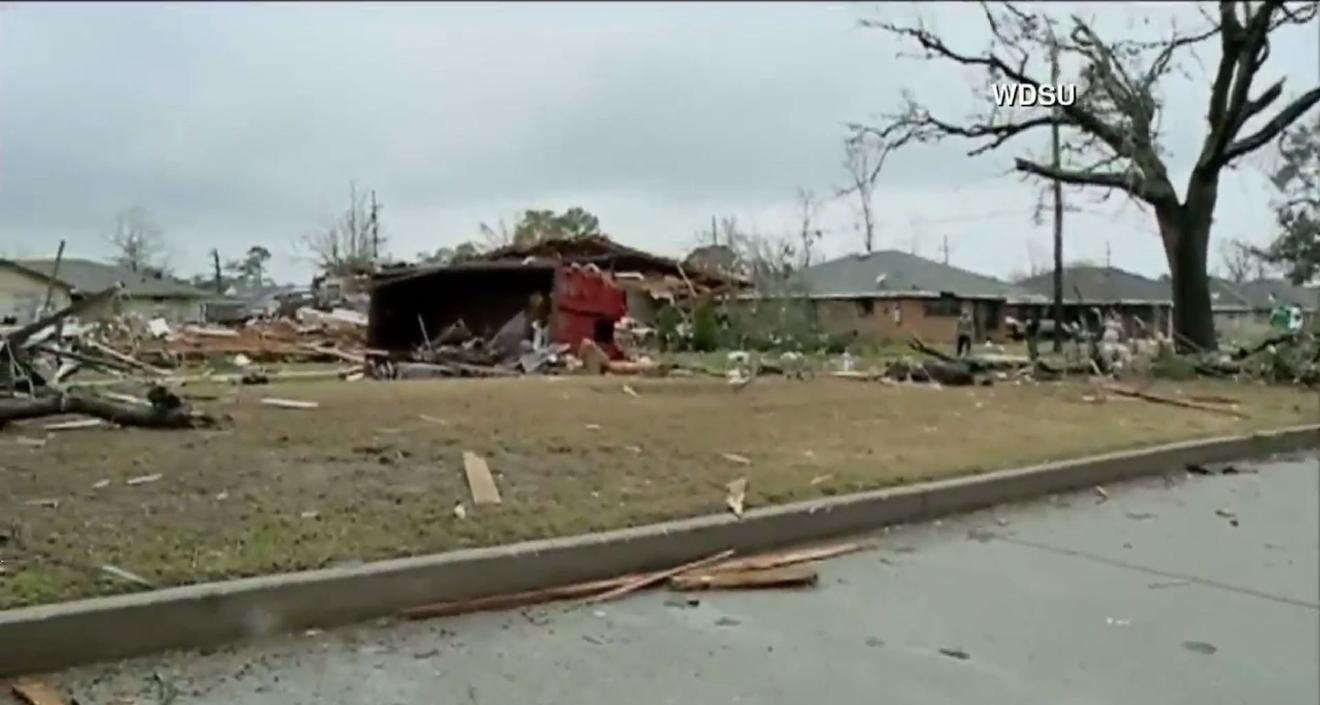 New Orleans family describes surviving tornado   KTUL