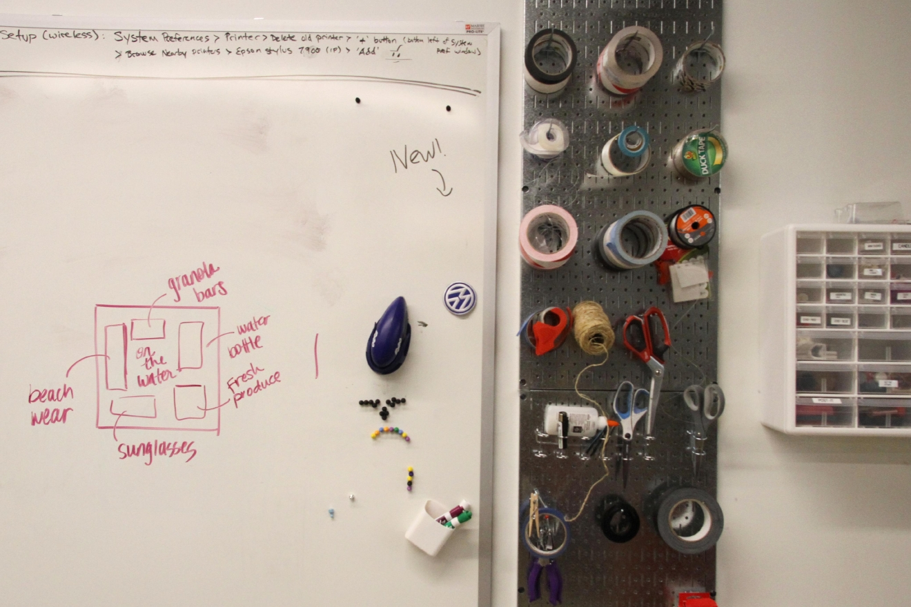 ISL has an in-house studio where employees can create physical  products. (Amanda Andrade-Rhoades/DC Refined)