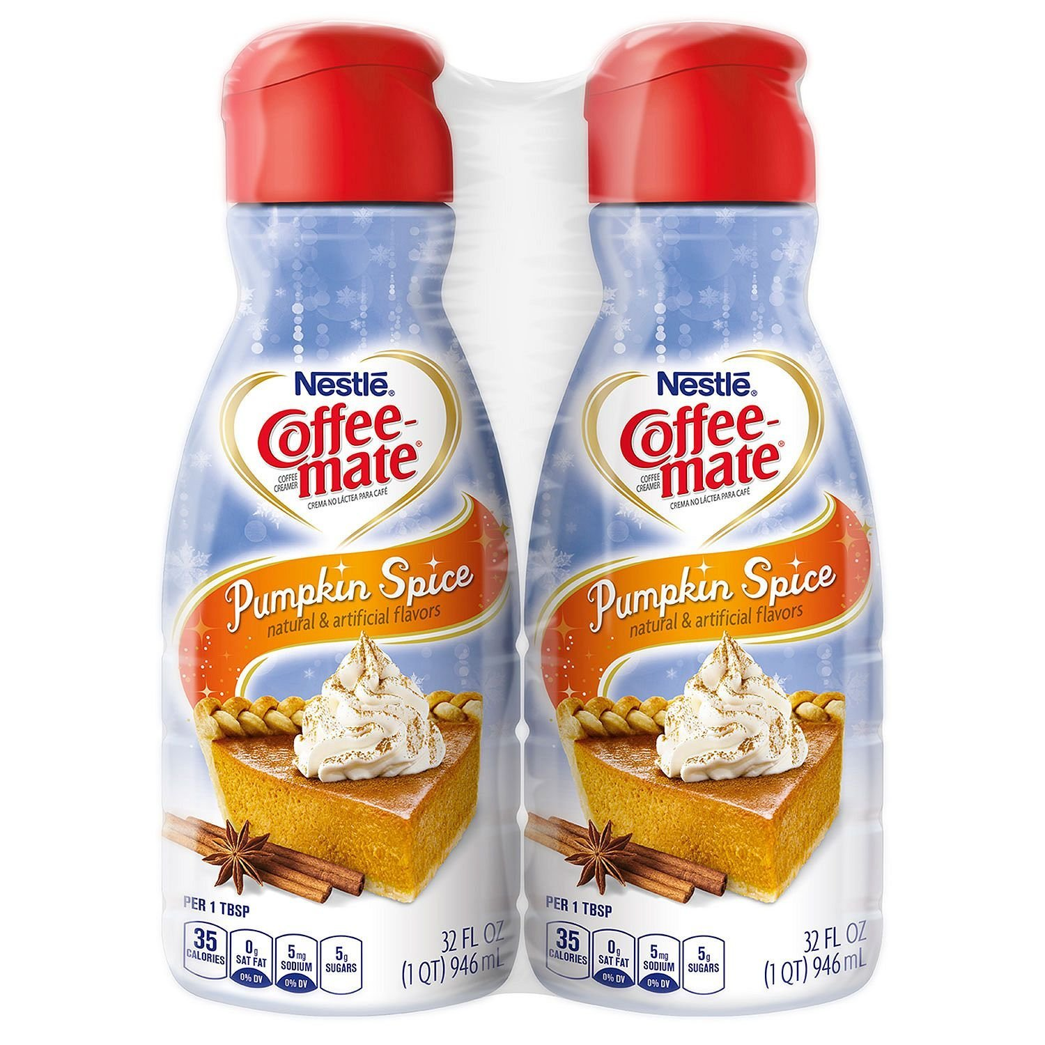 Nestle Coffee Mate Pumpkin Spice Liquid Coffee Creamer, $30 (Image courtesy of Nestle)