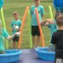 Camp Point pastors get slimed in fundraising event
