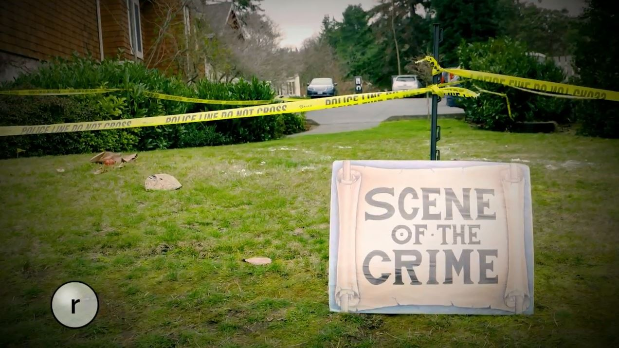 Each year, thousands descend upon the sleepy seaside town of Langley, Washington to solve a mysterious murder. Suspects wander the streets and participants question them and look for other clues to try to find out who dunnit. (Images: Seattle Refined)