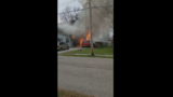 Crews fight house fire in Bethel