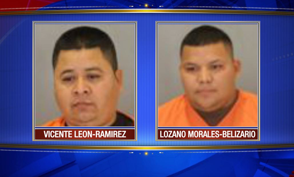 Vincente Leon-Ramirez and Lozano Morales-Belizario were arrested on Possession with Intent to Deliver charges<p></p>