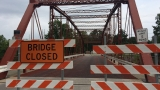 120 year old bridge damaged after hit and run in Goshen