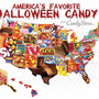 What is your state's favorite Halloween candy?