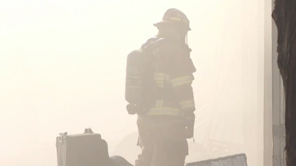 fire 556.PNG. Storage units ... & Smoke seen across the valley: storage units go up in flames in ...