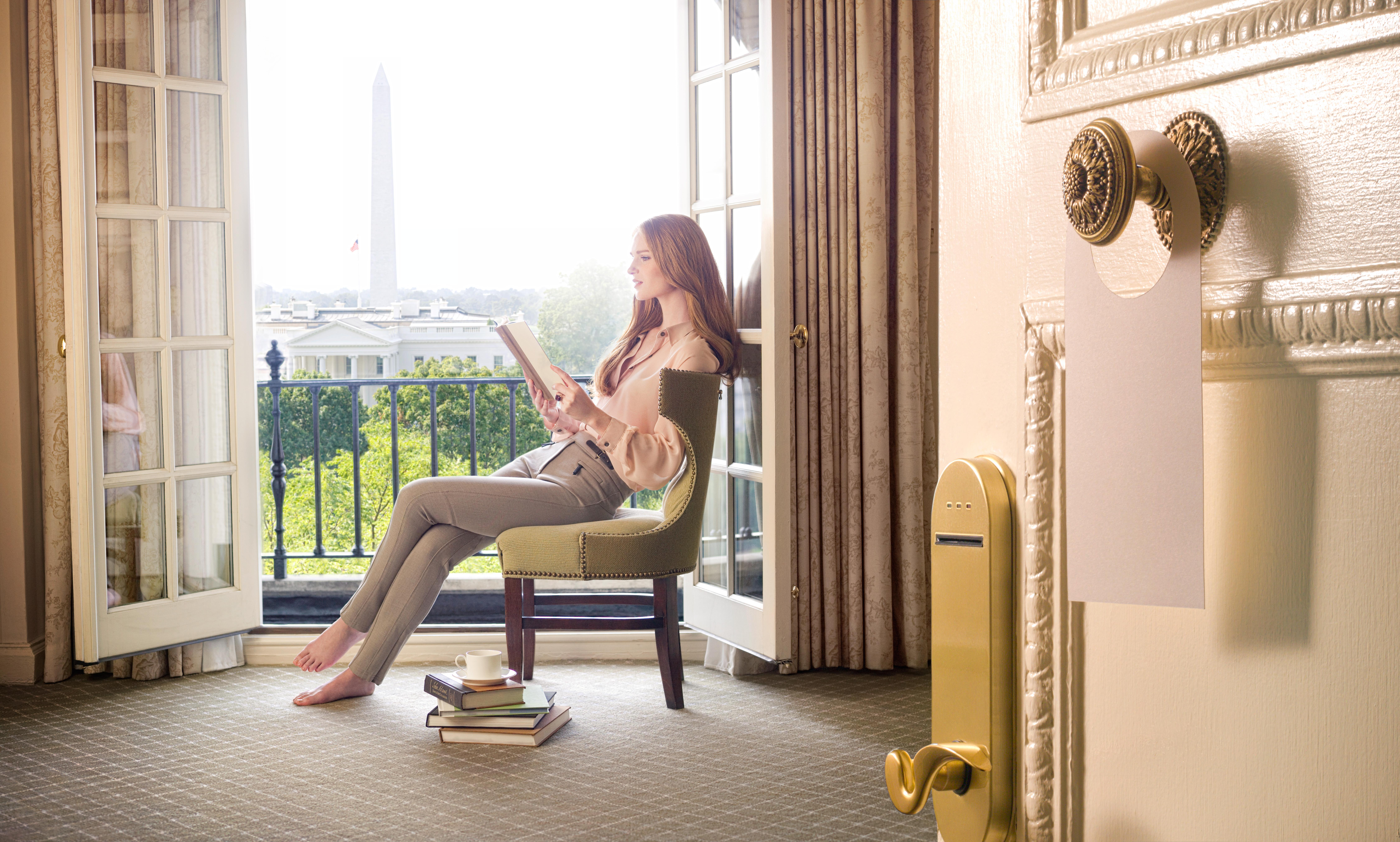 Suite with White House view (The Hay-Adams)