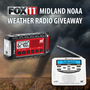 2018 FOX 11 Midland NOAA Weather Radio Giveaway