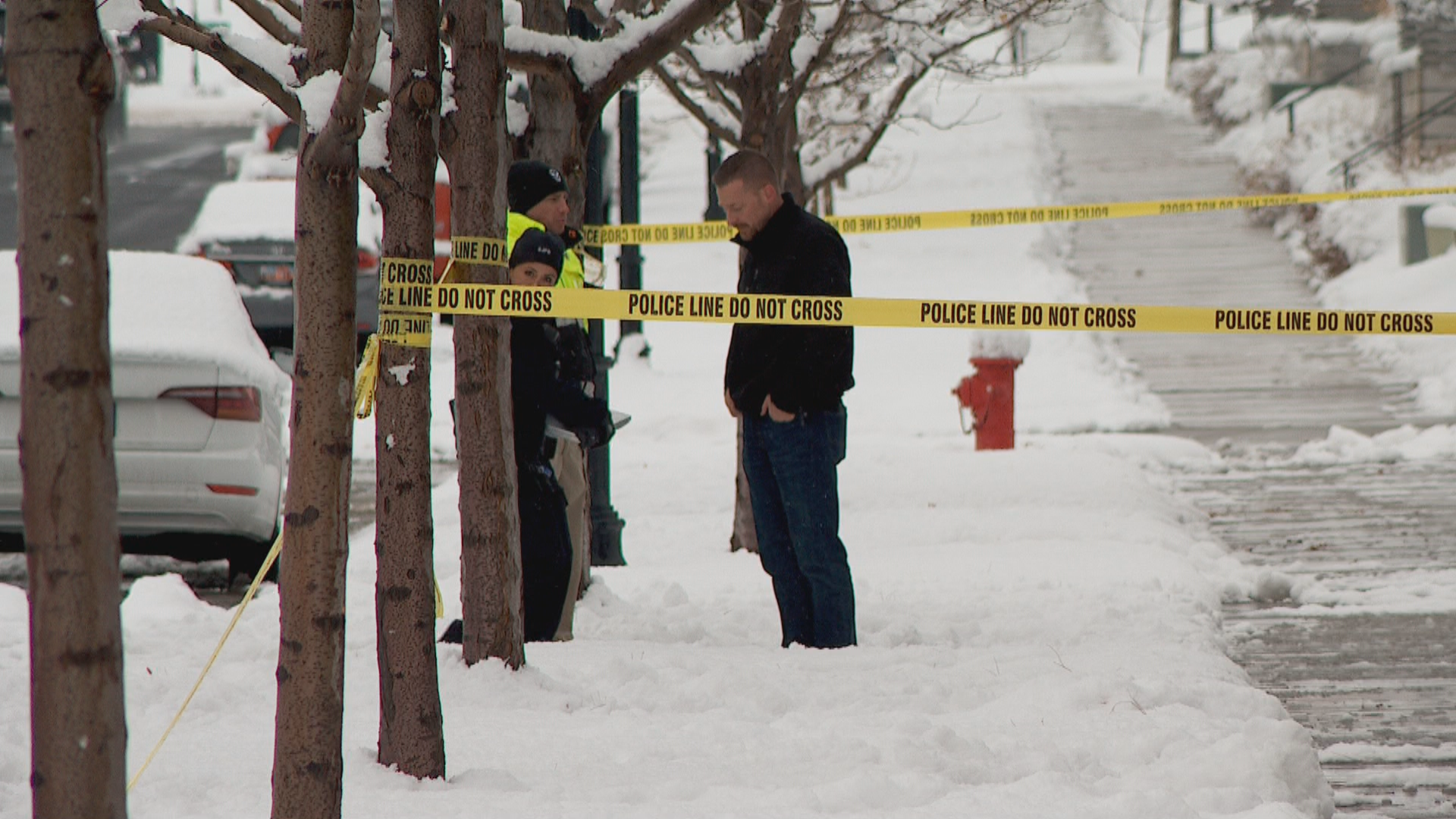 Three people were injured during at shooting at a early-morning house party in South Jordan, and police do not have the gunman in custody. (Photo:Randy Likness / KUTV)