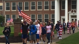 'America Monday' event held by students at Loudoun County High School in Va.