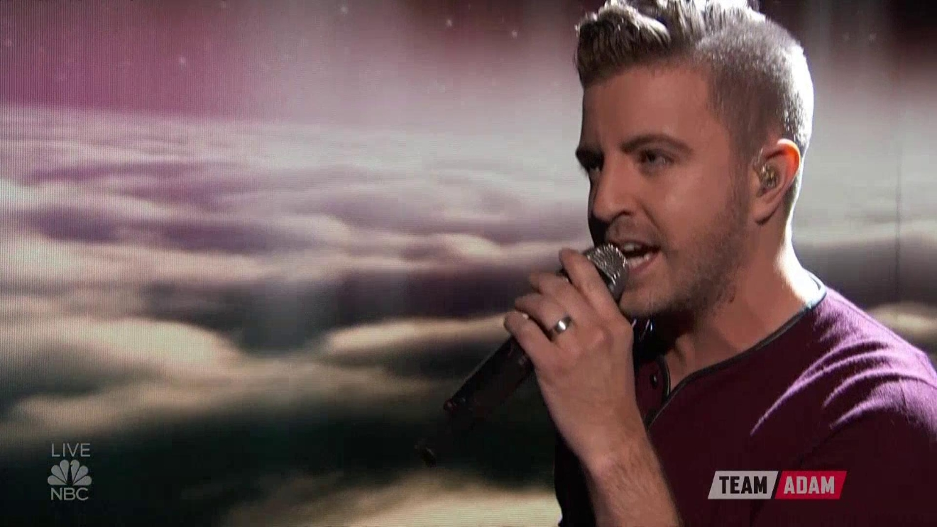 "Billy Gilman performs on the live finale of ""The Voice.'"