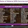 'Taste of Abilene' being held tonight at convention center