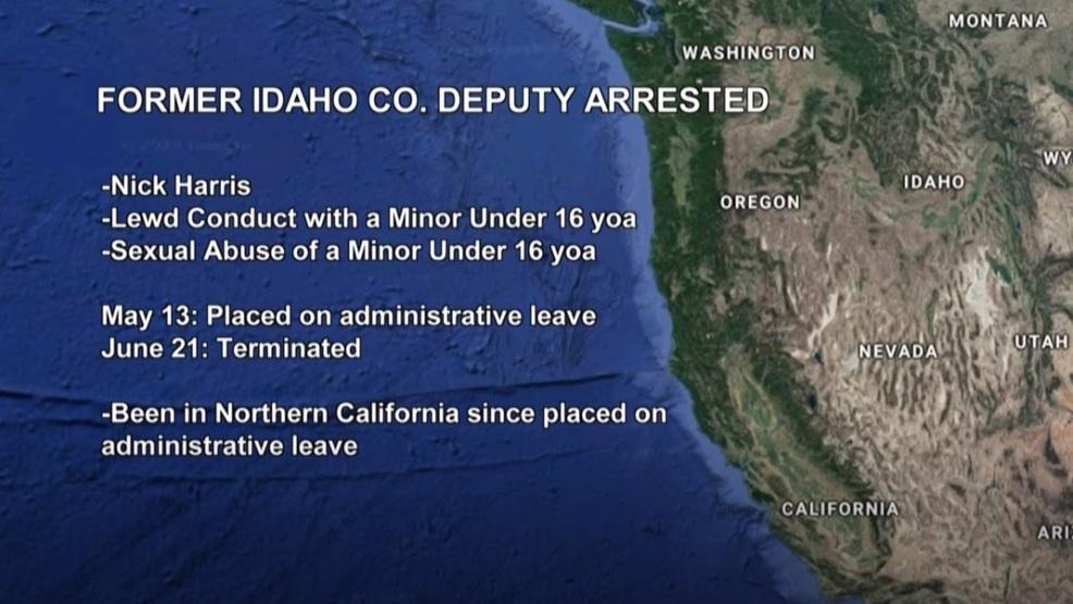 Former Idaho Co  Deputy Nick Harris faces multiple underage