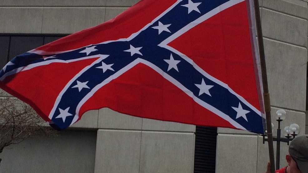sheriff black man assaulted by man with confederate flag at country