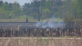 Winnebago Co. grass fire may have been caused by passing train
