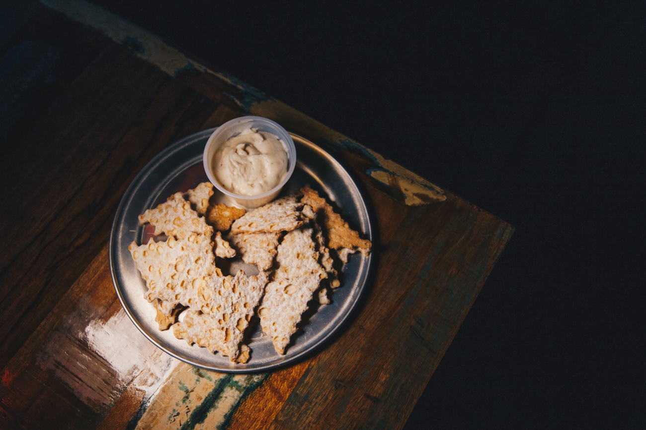 Cannoli Chips: fresh cannoli chips with a portion of sweet Italian cream / Image: Catherine Viox // Published: 4.4.19