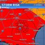 SUNDAY MORNING UPDATE: Severe storms expected Monday