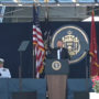 President Trump delivers commencement speech at Naval Academy graduation in Annapolis