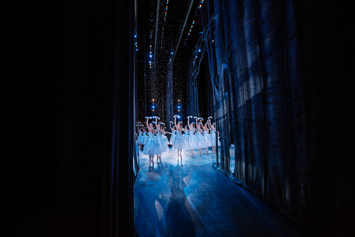 This is the third year for the Pacific Northwest Ballet's production featuring the choreography of George Balanchine with sets and costumes designed by Ian Falconer (creator of Olive the Pig). (Image: Seattle Refined)