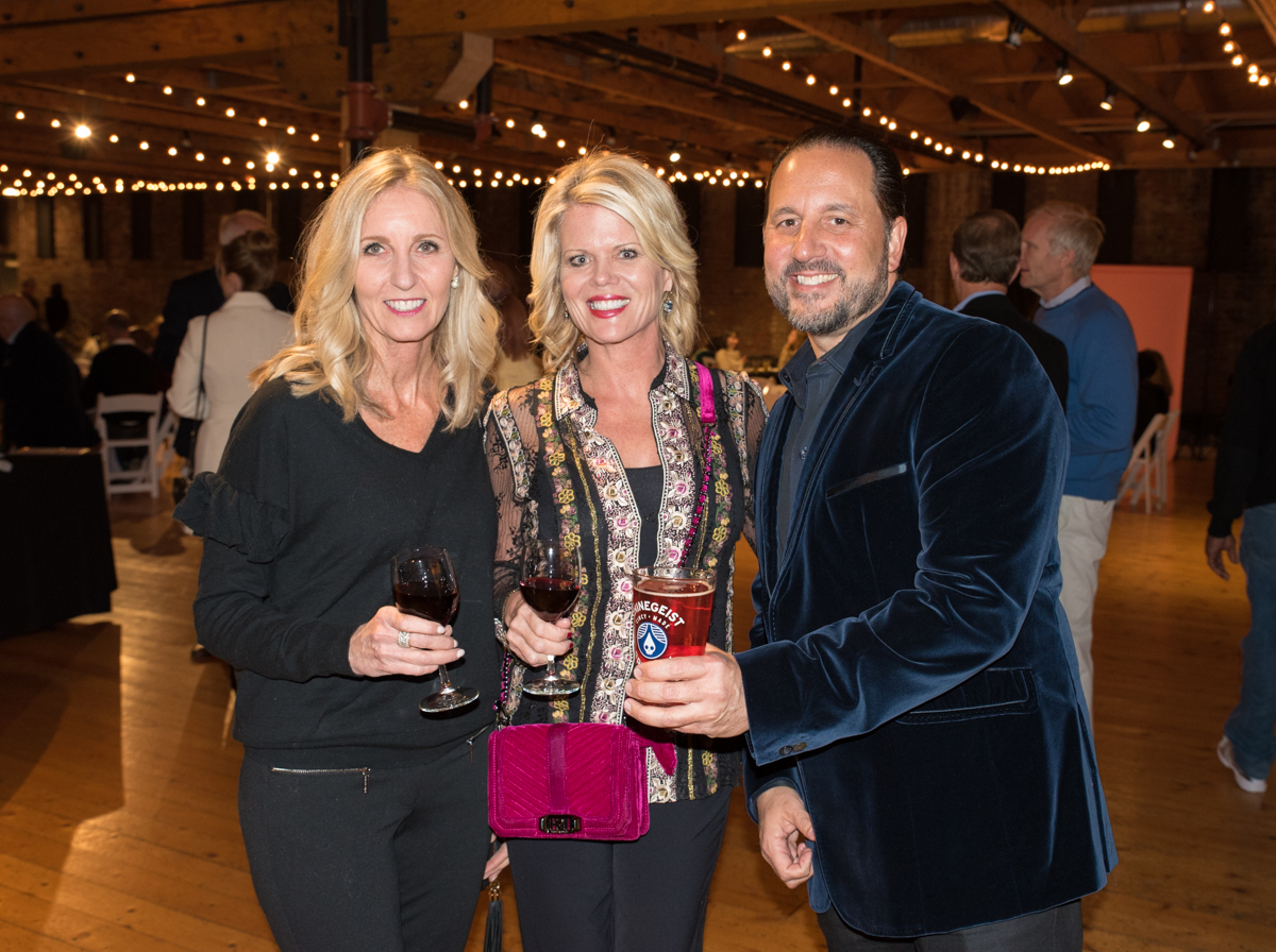 Lisa Samuelson, Karen Bader, and Chuck Tabri / Image: Sherry Lachelle Photography // Published: 10.26.17<p></p>