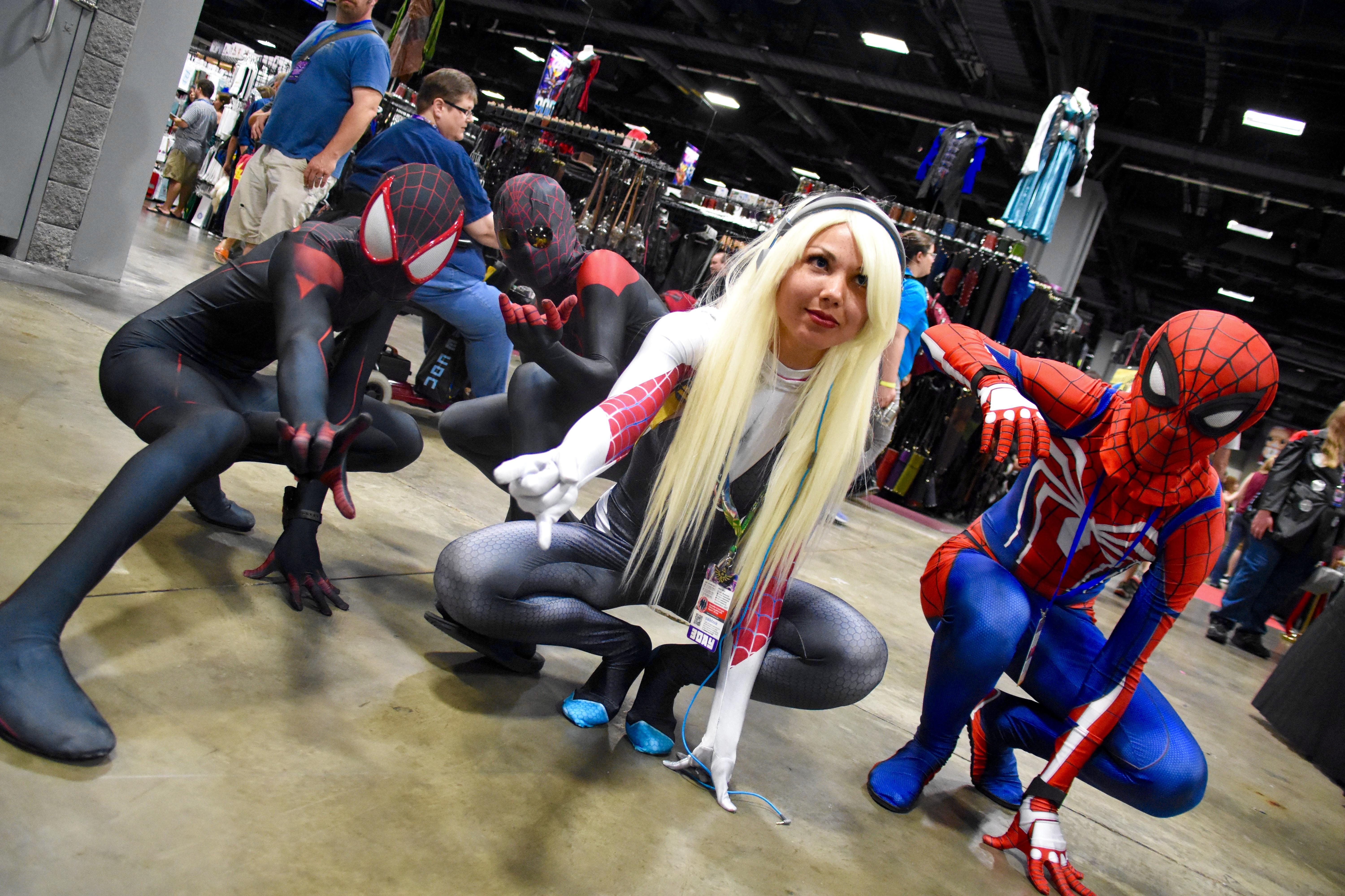 Nerds and geeks alike joined forces at Awesome Con, a three-day event celebrating all forms of pop culture, and just about all of them came in costume. Here are our favorite cosplays of 2017, from the funny to the extraordinary. (Image: Marni Rochkind)