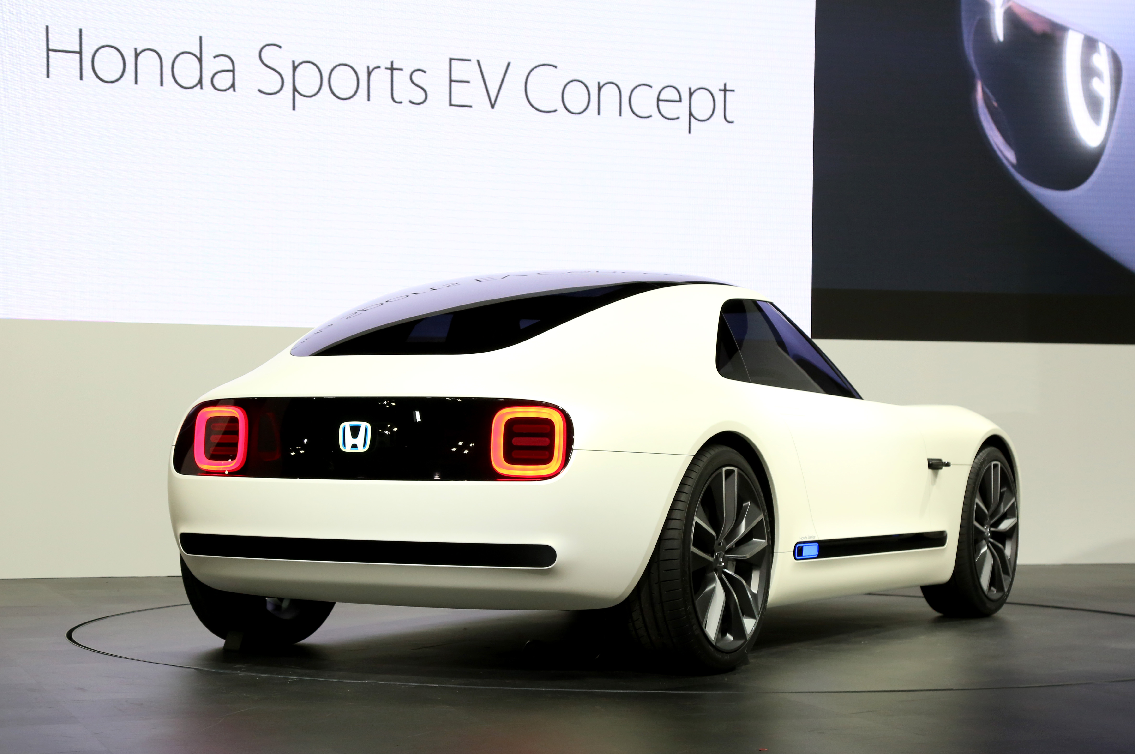Tokyo Motor Show 2017  Featuring: Honda Sports EV Concept Where: Tokyo, Japan When: 25 Oct 2017 Credit: Yukio Tomita/Future Image/WENN.com  **Not available for publication in Germany**