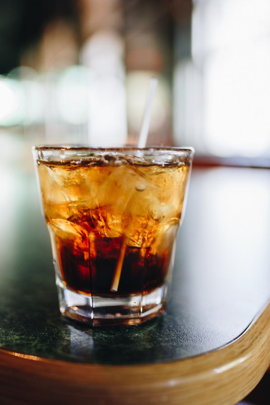 Bourbon and Coke / Image: Catherine Viox // Published: 10.2.18