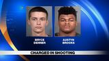 UPDATE: Two suspects charged in Grape Road shooting
